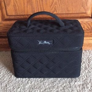 Vera Bradley cosmetic travel bag case
